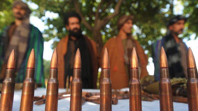 Афганистан Талибан патроны (3)