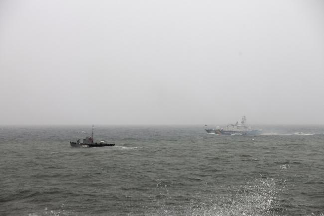 Парад ВМС Украины в Одессе
