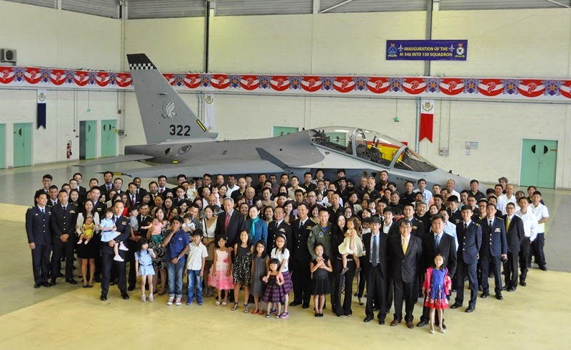 Singapore air force enhances fighter flying training with inauguration of M-346 2