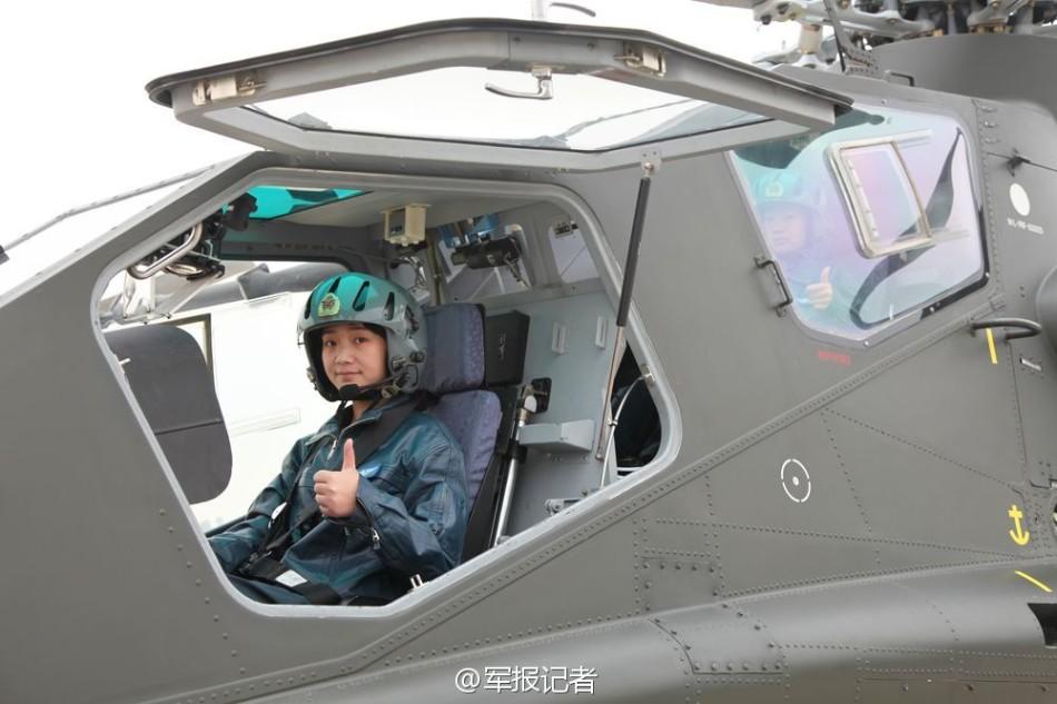 женщины-пилоты боевых вертолетов 1