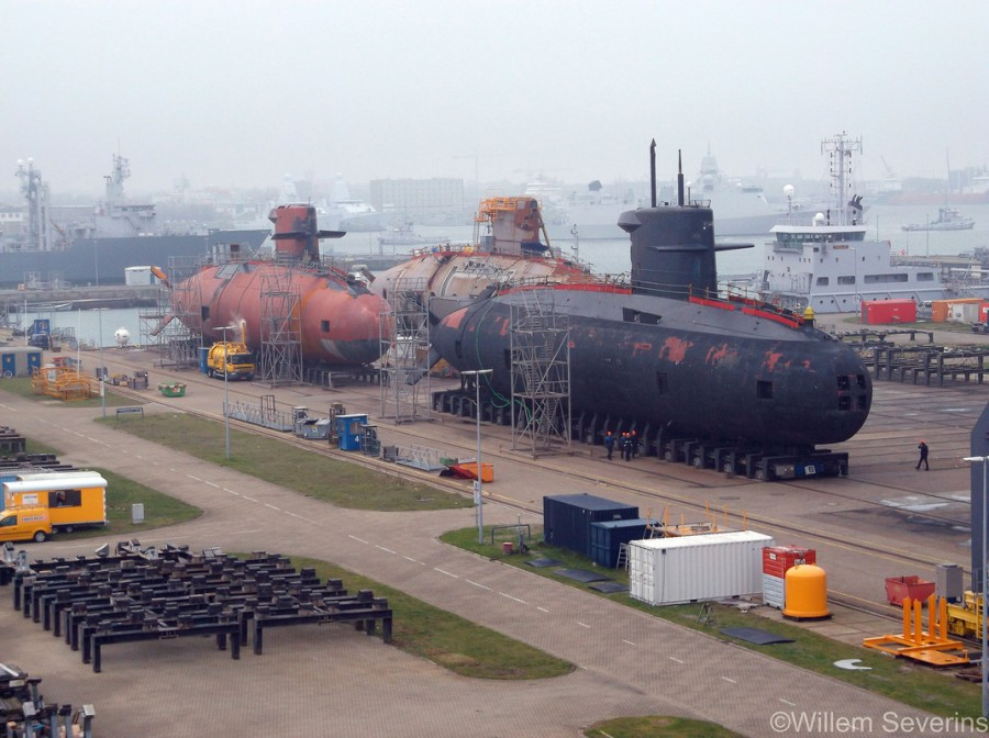 três-submarinos-da-classe-Walrus-1