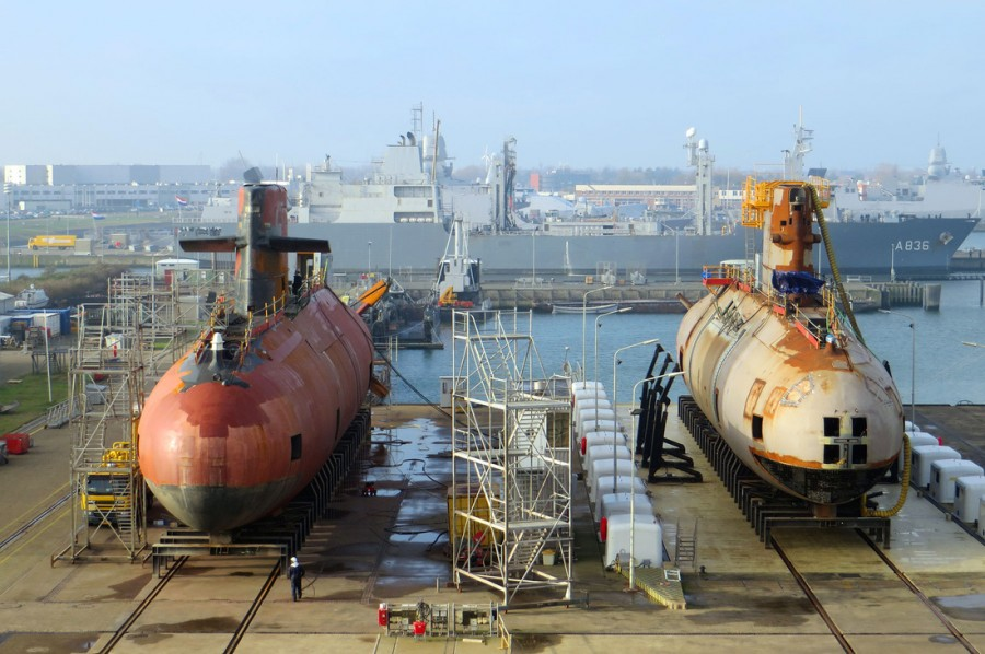 três-submarinos-da-classe-Walrus-6