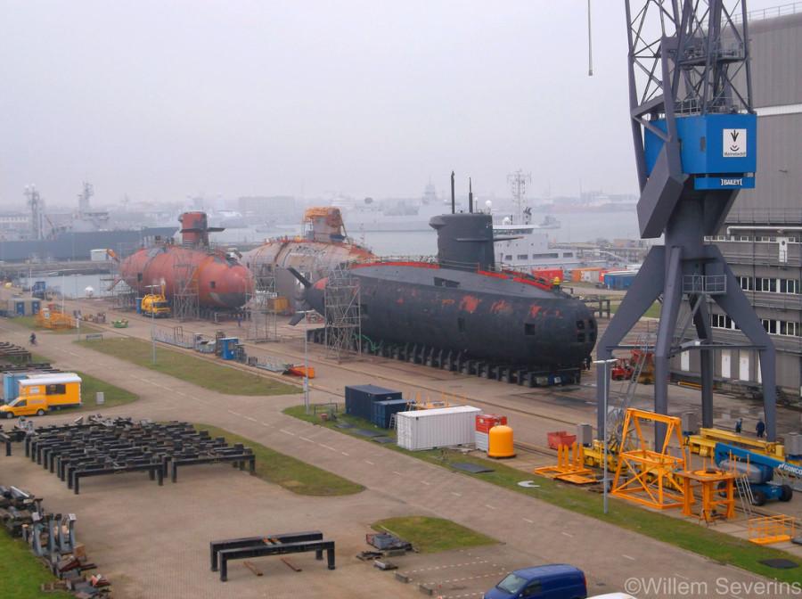 três-submarinos-da-classe-Walrus-2