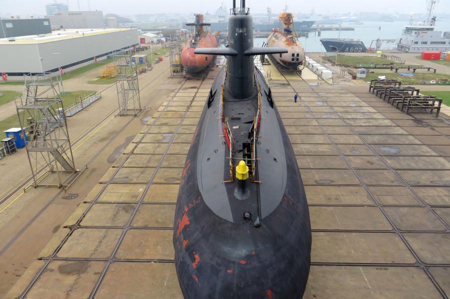 três-submarinos-da-classe-Walrus-3