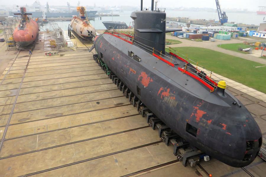 três-submarinos-da-classe-Walrus-5
