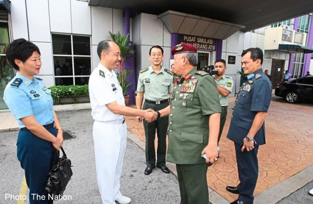 20141223_armedforces_nation - China Malaysia exercise