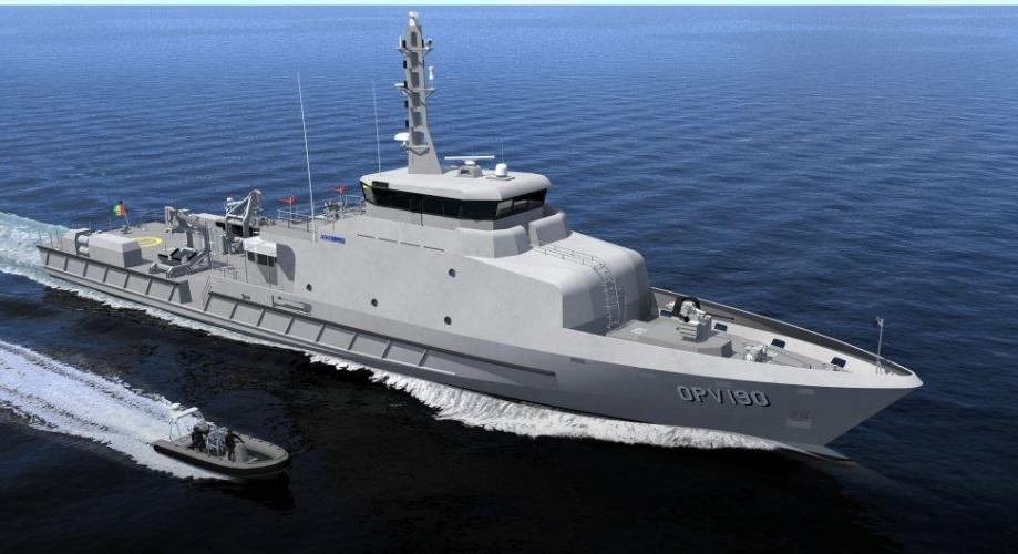 Сенегал заказал патрульный корабль французской компании ОСЕА
