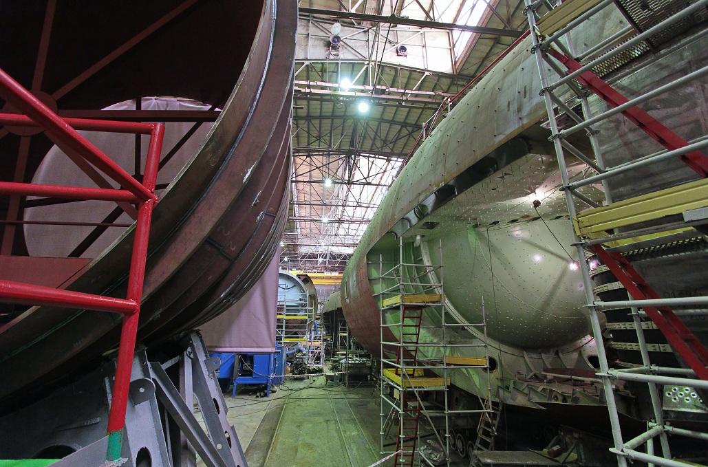 строящиеся подводные лодки россии