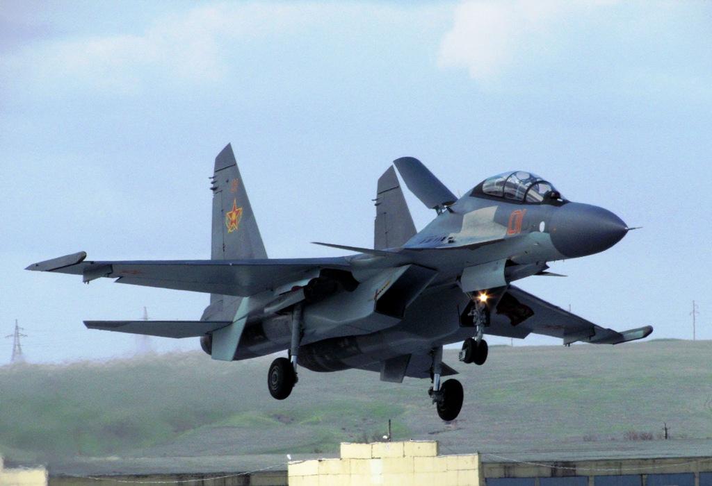 Истребитель Су-30& (1)