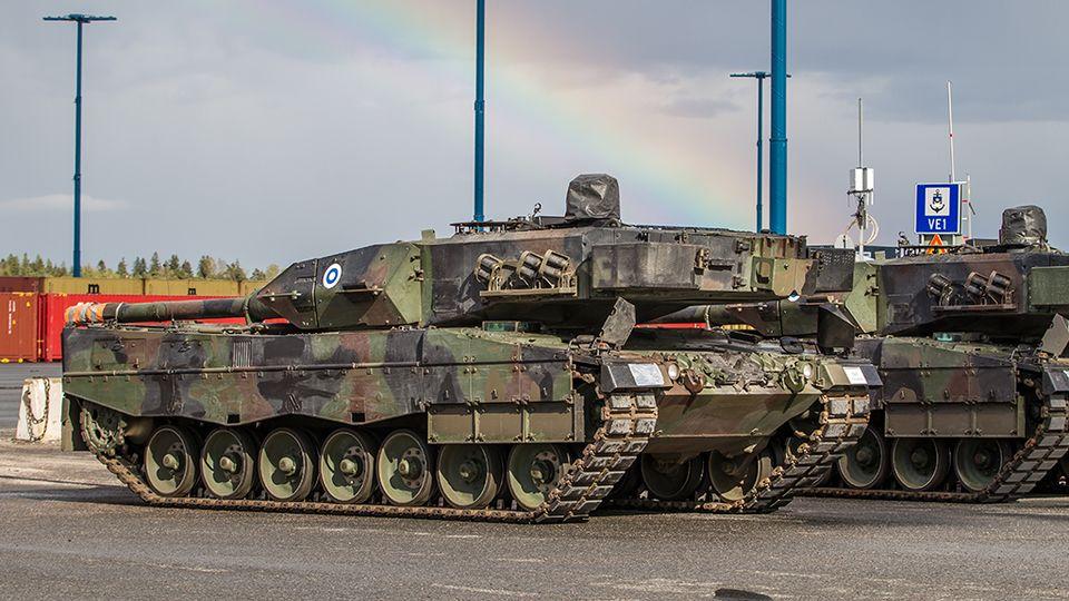Leopard2A6_Vuosaari_Puolustusvoimat_Ville_Multanen_1