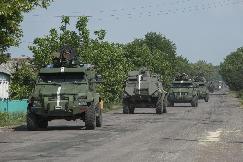 В Крымском шли жестокие бои, ранен воин Нацгвардии, - Москаль - Цензор.НЕТ 4744