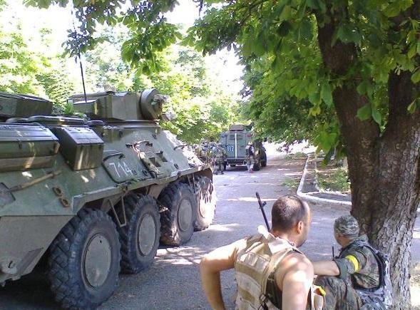 В Крымском шли жестокие бои, ранен воин Нацгвардии, - Москаль - Цензор.НЕТ 53