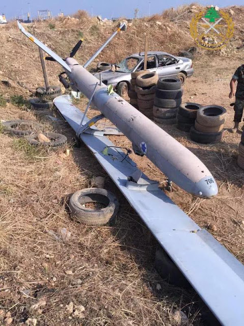 Israeli UAV crashes in Lebanon for 2nd time in 3 weeks in the port of Tripoli 1