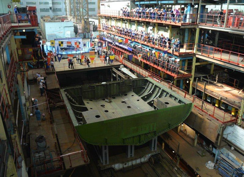 Заказы для третьего тихоокеанского корвета проекта 20380