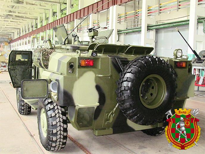 Белорусский вариант кардинальной модернизации БРДМ-2 8e43bde07035536a01f2a39bd557c3ab
