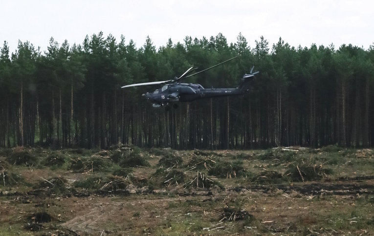 Падение Ми-28Н 1158816306