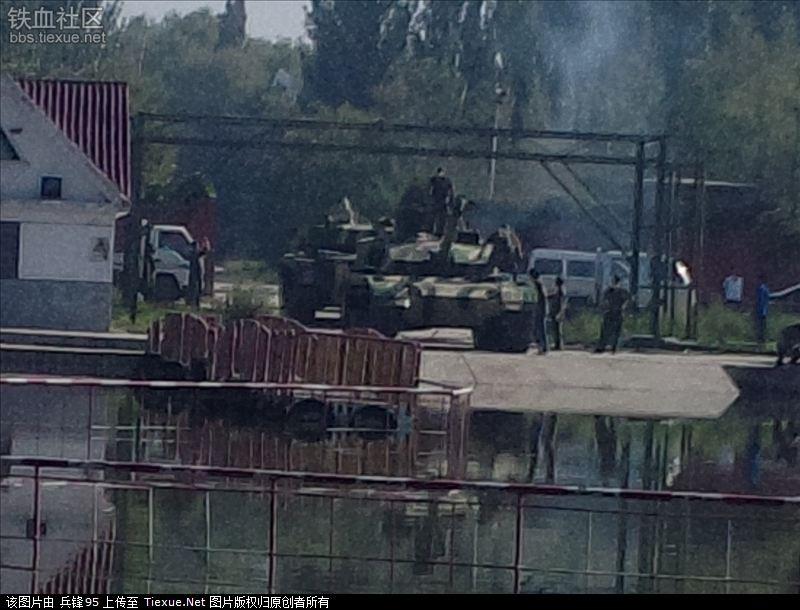 китайския танк тип 96