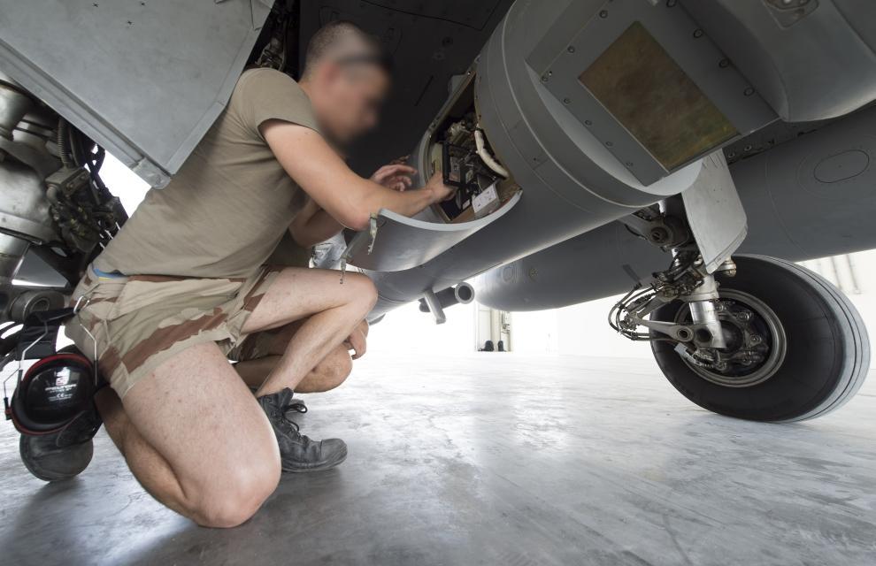 """Проблемы ВВС Франции про проведении операций против """"Исламского государства"""""""