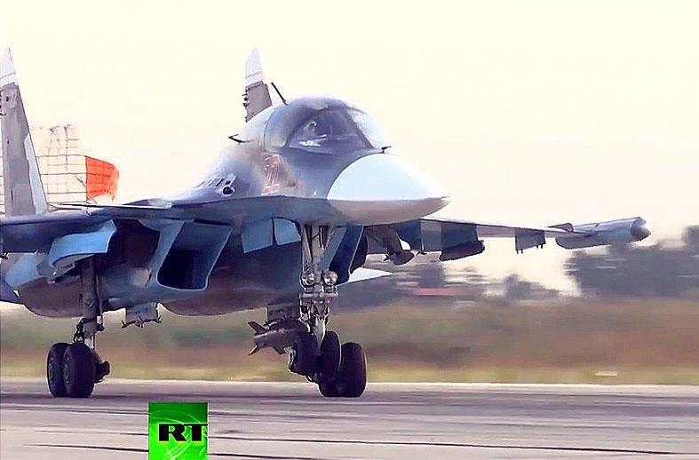 Вторые сутки российской военной операции в Сирии