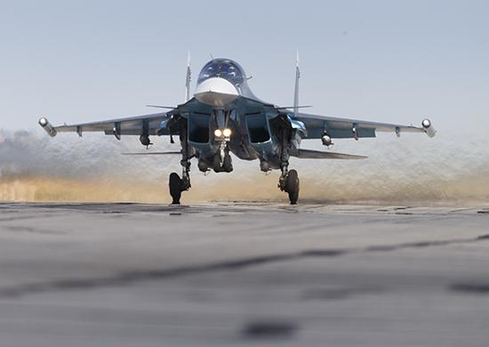 Продолжение операции ВКС России в Сирии SAVX7482-1-550