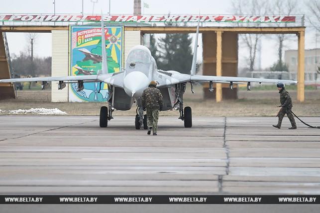 В Белоруссии отремонтированы десять истребителей МиГ-29