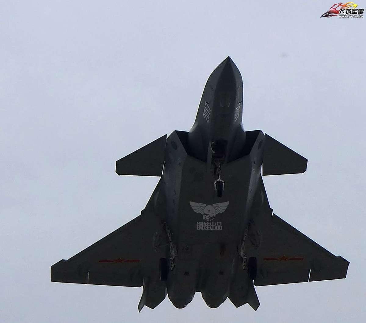 Восьмой летный прототип китайского истребителя J-20