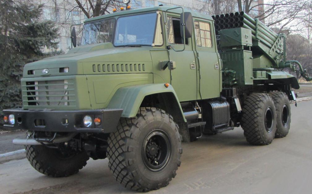 """Украинская 122-мм РСЗО """"Верба"""""""
