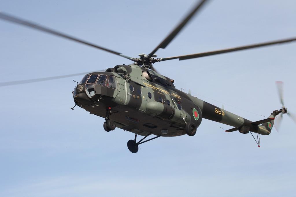 В Бангладеш поставлены пять вертолетов Ми-171Ш