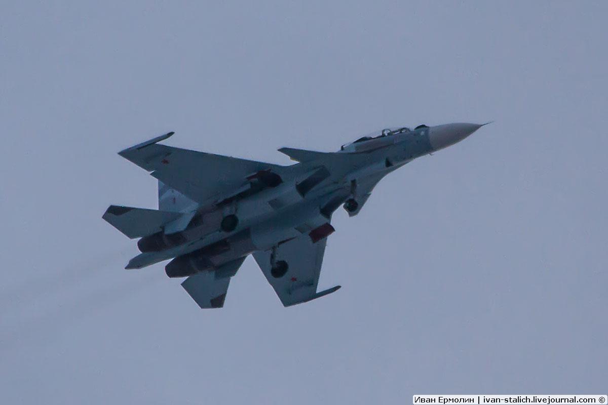 Очередные три новых Су-30СМ вылетели из Иркутска