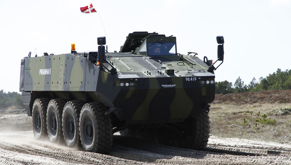 Дания подписала контракт на закупку 309 бронетранспортеров Piranha V