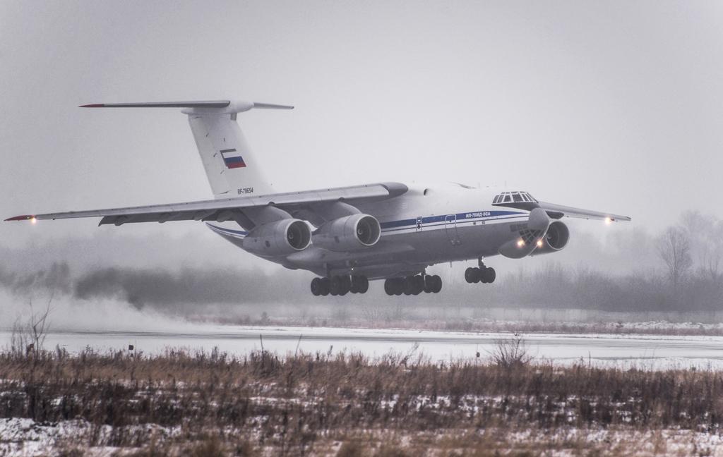 Avión de carga y transporte militar Ilyushin IL-76MD-90A (IL-476) 2660107_original