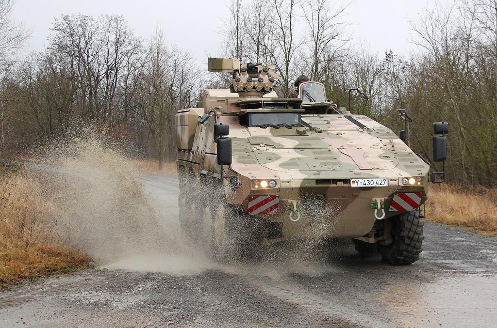 Германская армия заказала еще 131 бронетранспортер Boxer