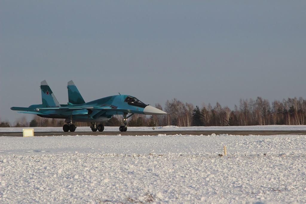 Поставлены последние Су-34 программы 2015 года