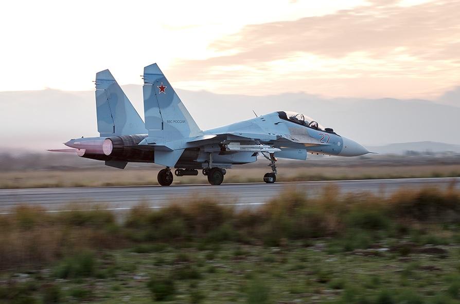 Действия ВКС России в Сирии в последние дни 2015 года