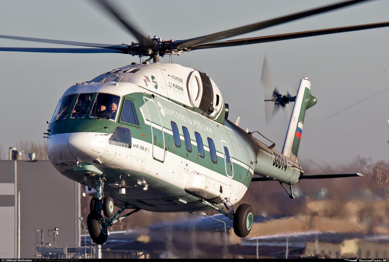 Вертолет Ми-38 получил сертификат типа