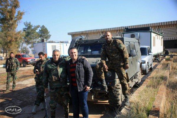 """Российская бронированная машина """"Рысь"""" на вооружении Сирийской Арабской Армии"""