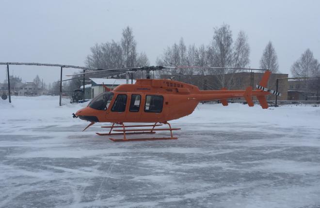 Начата сборка вертолетов Bell 407GXP на УЗГА