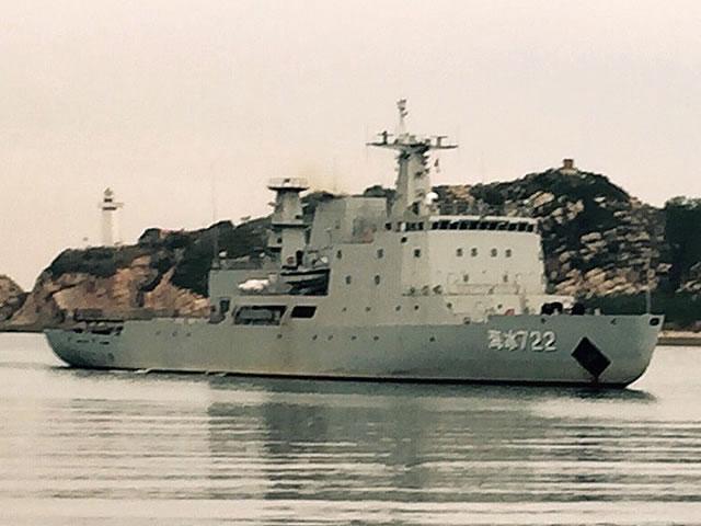 Новый китайский военный ледокол