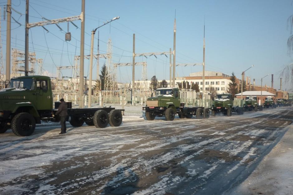 """Египет получил очередную партию грузовиков """"КрАЗ"""" и заключил новый контракт на их закупку"""