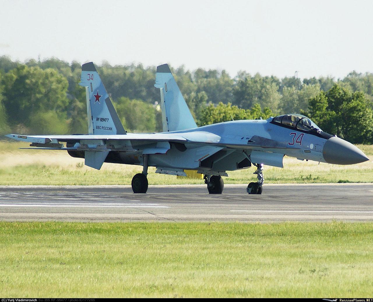 ВКС России согласовали контракт на закупку 50 истребителей Су-35С