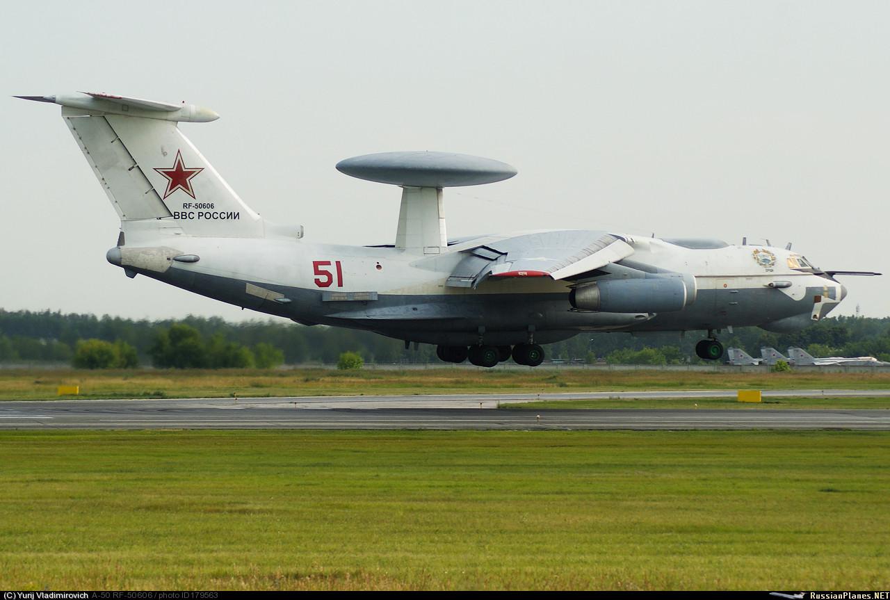 Россия начала применять в Сирии самолеты ДРЛО и управления А-50