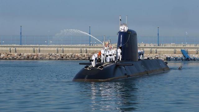 Израильский флот получил подводную лодку Rahav