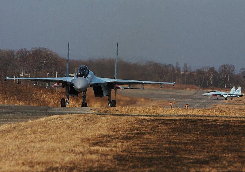 22-й истребительный авиационный полк получил первые истребители Су-35С