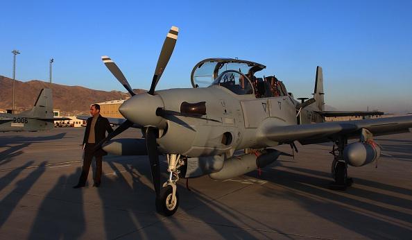Афганистан получил первые четыре самолета Super Tucano