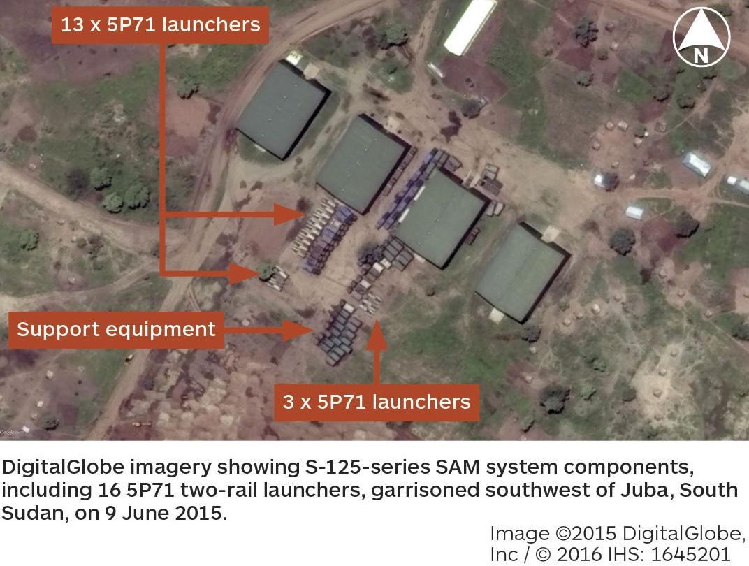 Южный Судан поставил на боевое дежурство ЗРК С-125-2Д, ранее закупленные через Уганду на Украине