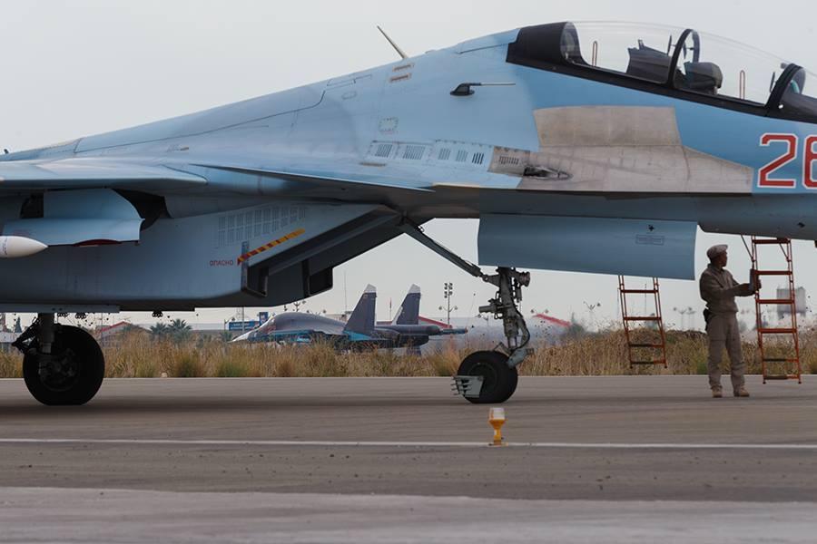 Продолжение операции ВКС России в Сирии