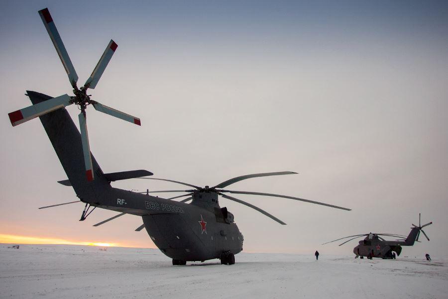 Министерство обороны России планирует получить модернизированные вертолеты Ми-26