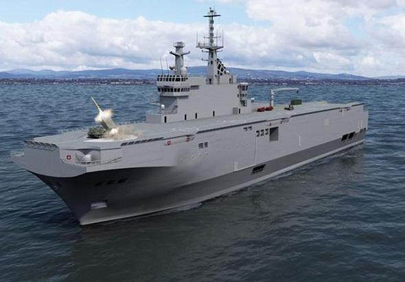 ВМС Франции рассматривают возможность применения РСЗО с кораблей типа Mistral