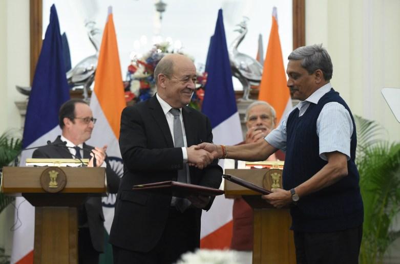 Индия подписала меморандум о приобретении 36 истребителей Rafale