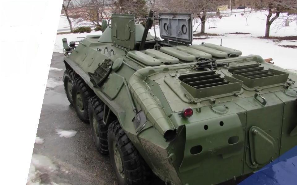 Украинский 82-мм самоходный миномет